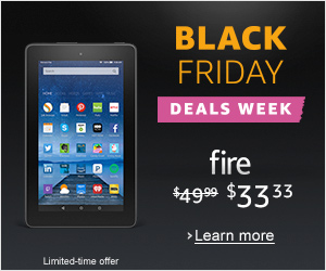 Amazon Kindle Fire $33.33
