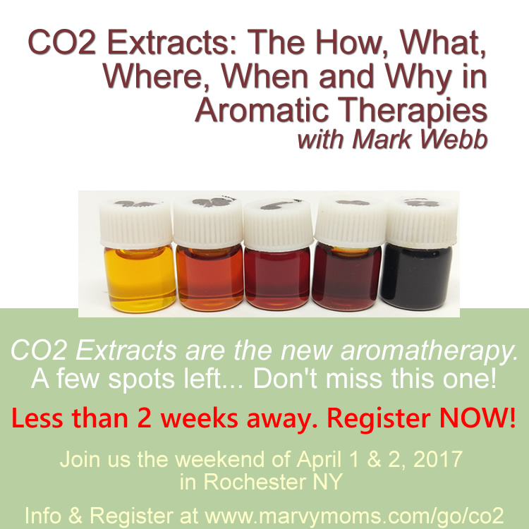 CO2 Extracts Class with Mark Webb Offered in April 2017