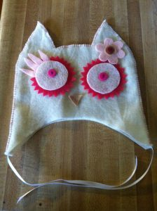 Marvy Moms - Felt Owl Halloween Costume - Owl Hat
