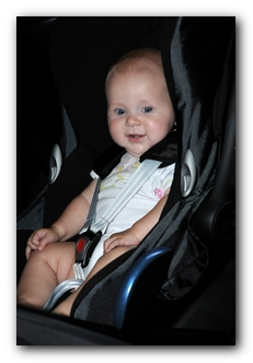Car Seat Safety Check - Baby in Car Seat