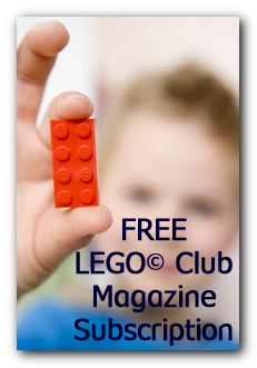 Free LEGO Club Magazine Subscription