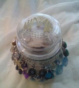 Jar Candle Earring Holder - Marvy Moms