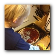 Vegetables and Yummy Foods—Together? Making Pizza - Marvy Moms