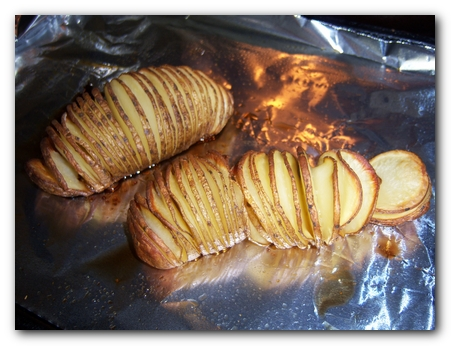 "Crispy Baked Potato ""Chips"""