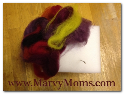 Felting My Stress Away - Marvy Moms