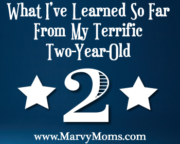 What I've Learned So Far From My Terrific Two-Year-Old - Marvy Moms