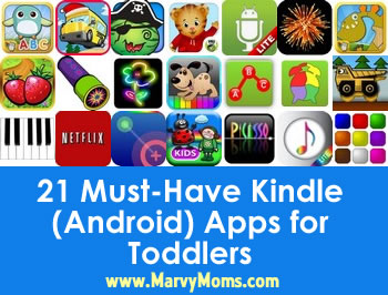 21 Must-Have Kindle (Android) Apps for Toddlers