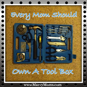 Every Mom Should Own a Tool Box!