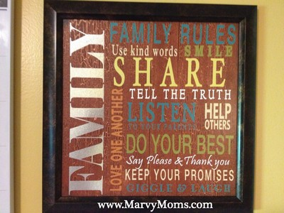 Family Organization Center - Marvy Moms