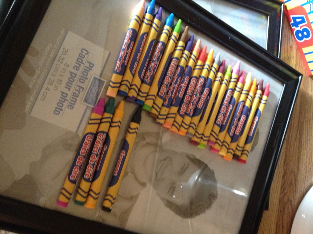 End-of-year Teacher Gift—Crayon Letters - Marvy Moms