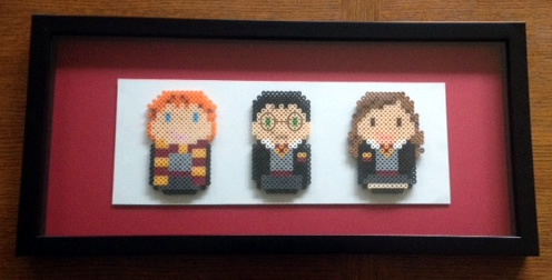 Perler Beads Harry Potter - Marvy Moms