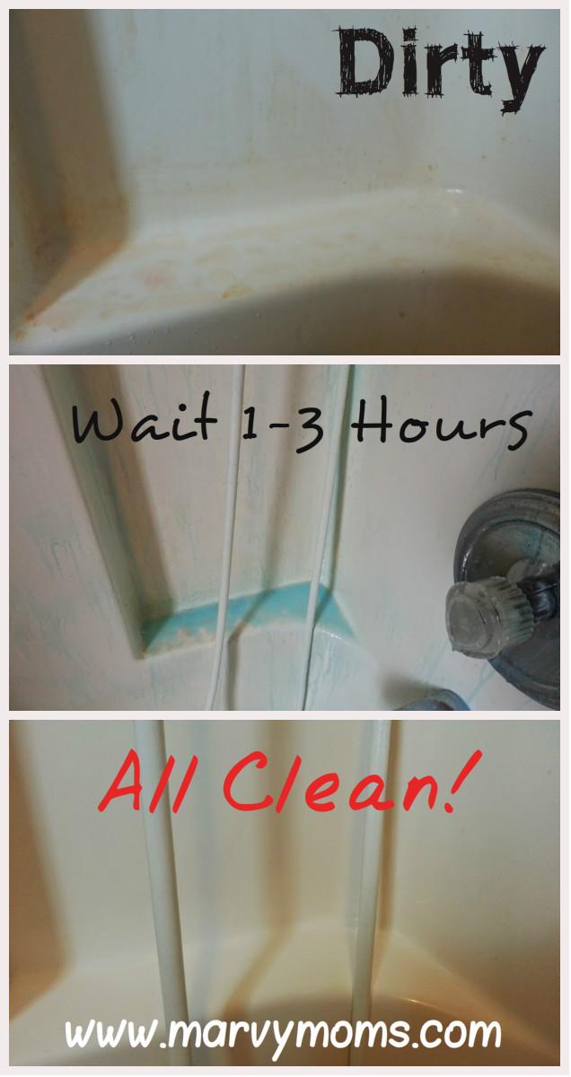 Easy Homemade Bathtub Cleaner that Works - Marvy Moms