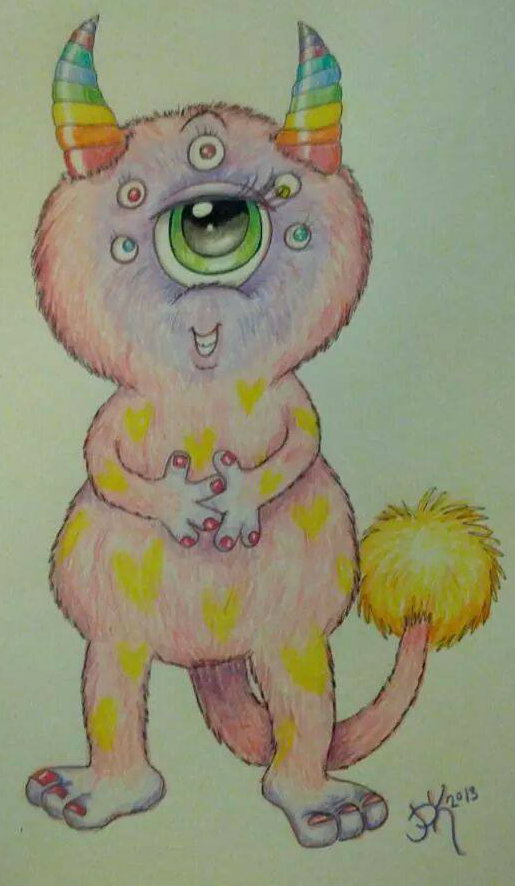 Worry Monsters - Marvy Moms