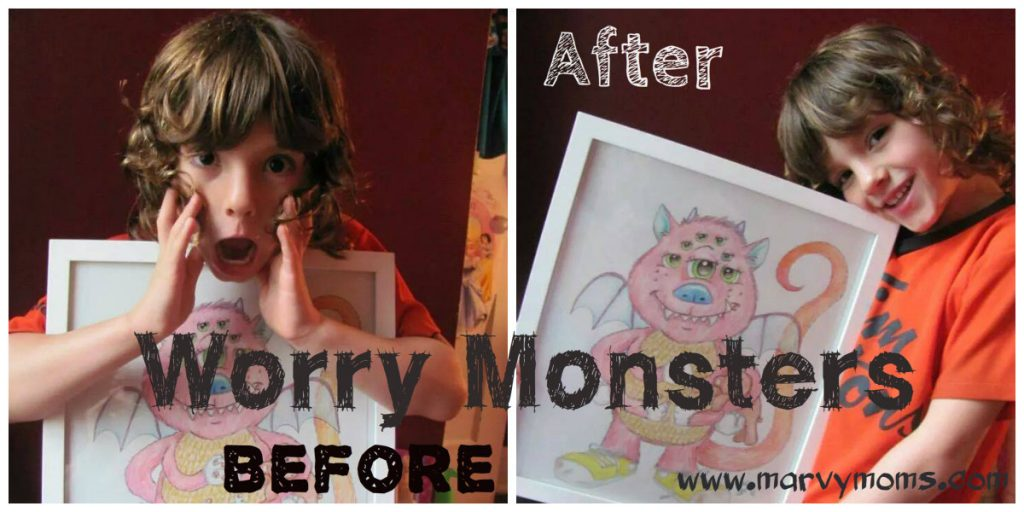 Calm Childhood Fears with a Worry Monster