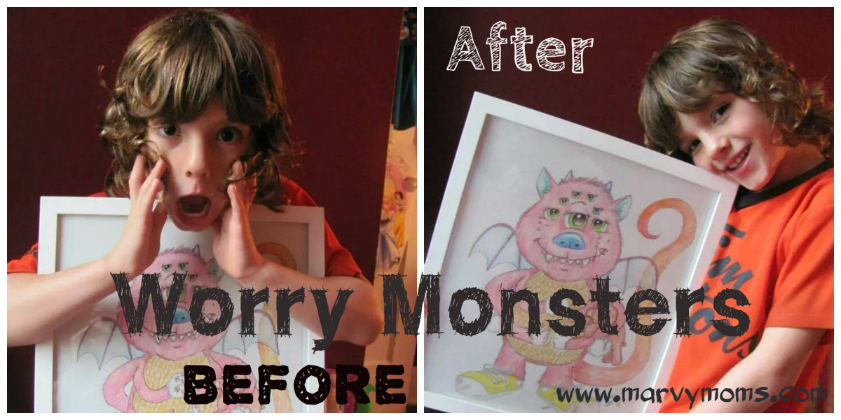 Worry Monsters - Marvy Moms