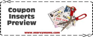 7/26/15 Sunday Paper Coupon Preview – 5 Inserts *Plus* 20% Off Grapes