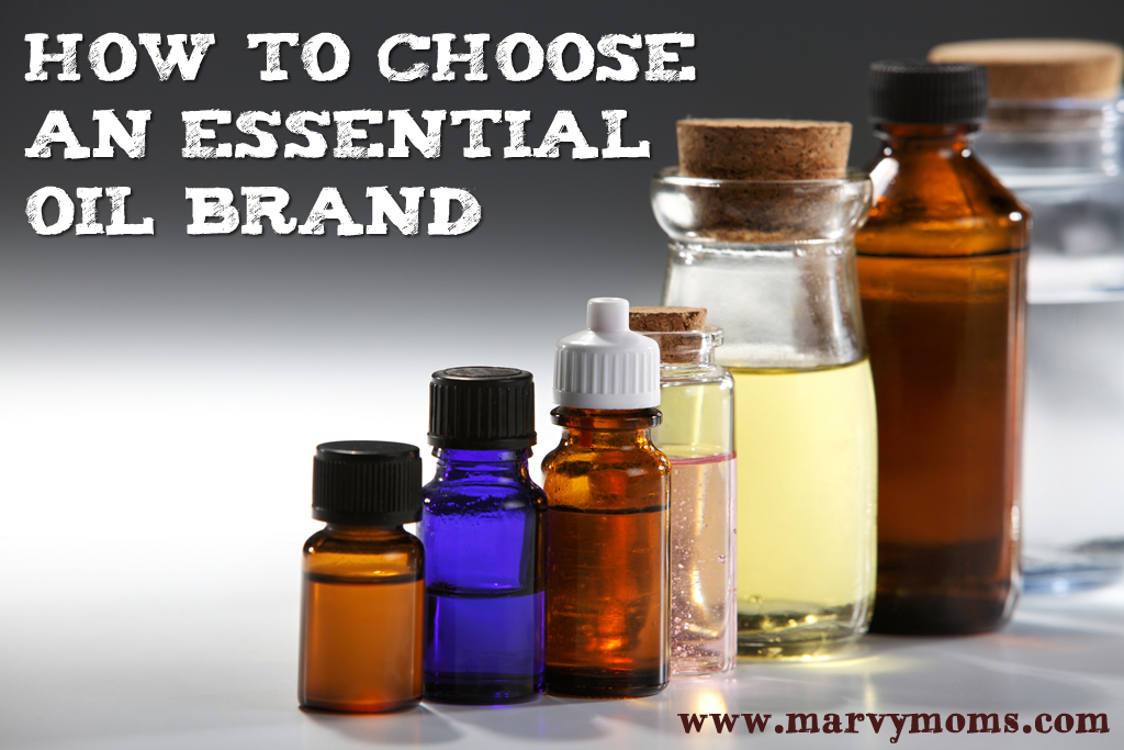 How to Choose an Essential Oil Brand - Marvy Moms