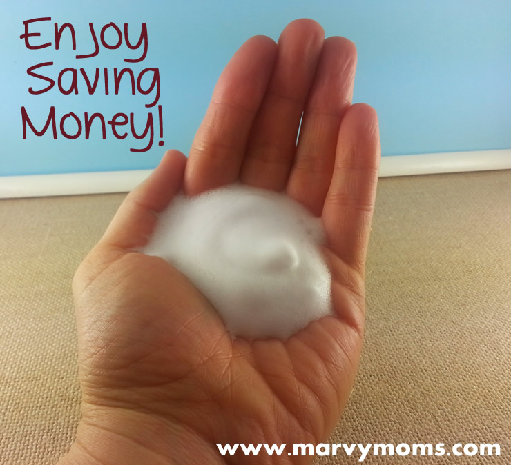 How to Make Your Own Foaming Soap - Marvy Moms