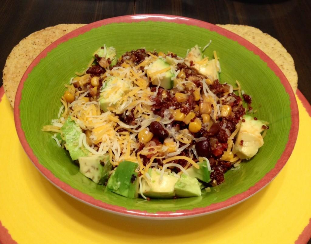 One Pan Mexican Quinoa - Marvy Moms