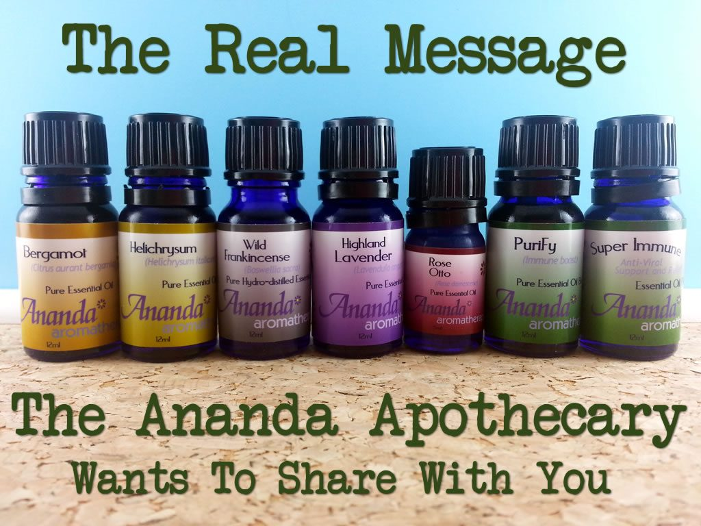 The Real Message The Ananda Apothecary Wants To Share With You