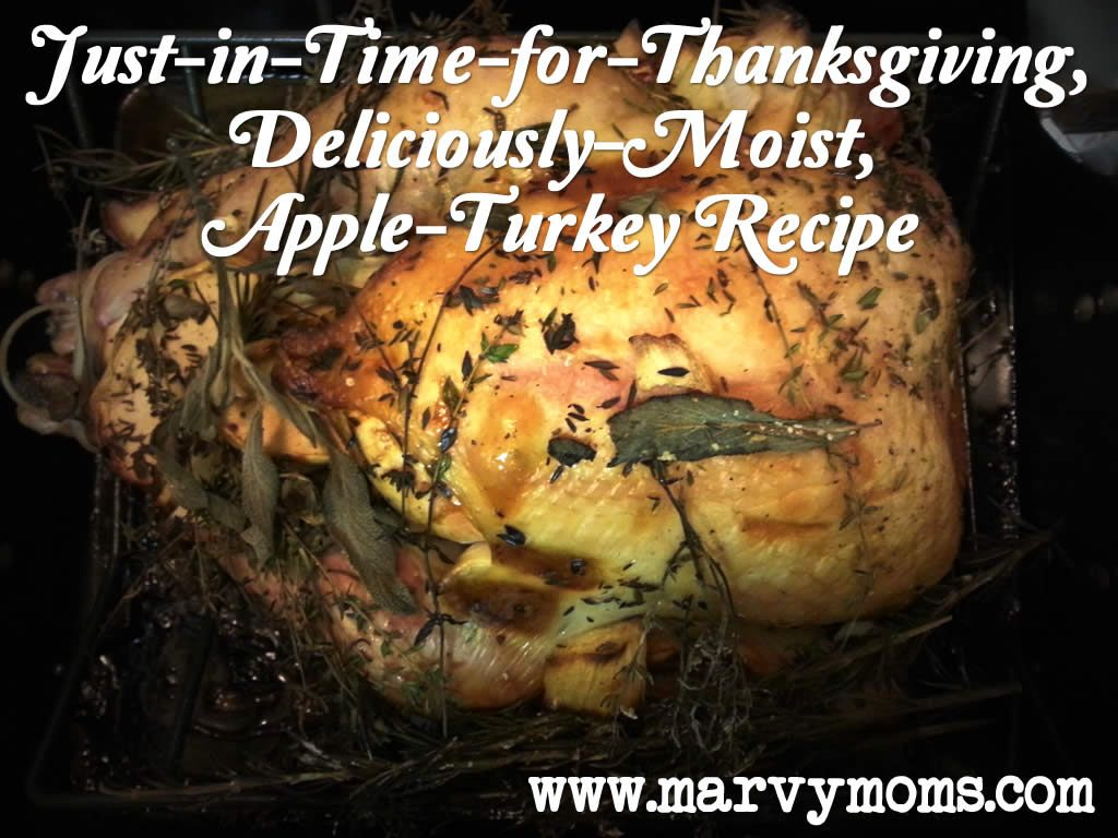 Just-in-Time-for-Thanksgiving, Deliciously-Moist, Apple-Turkey Recipe