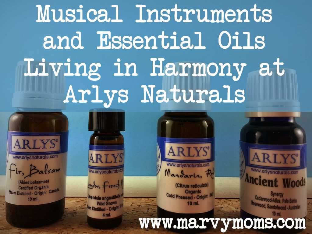 Musical Instruments and Essential Oils Living in Harmony at Arlys Naturals