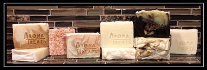 Aroma Treats handmade soaps.