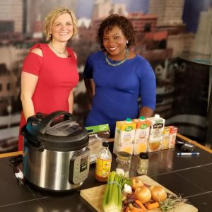 Easy Bone Broth for health with the Instant Pot®