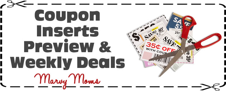 1/24/16 Sunday Paper Coupon Preview & Weekly Deals - Marvy Moms