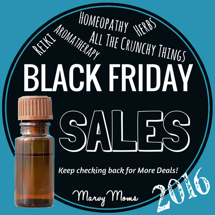Black Friday and Cyber Weekend Sales on All the Crunchy Things 2016