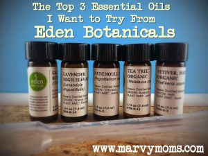 The Top 3 Essential Oils I Want to Try From Eden Botanicals