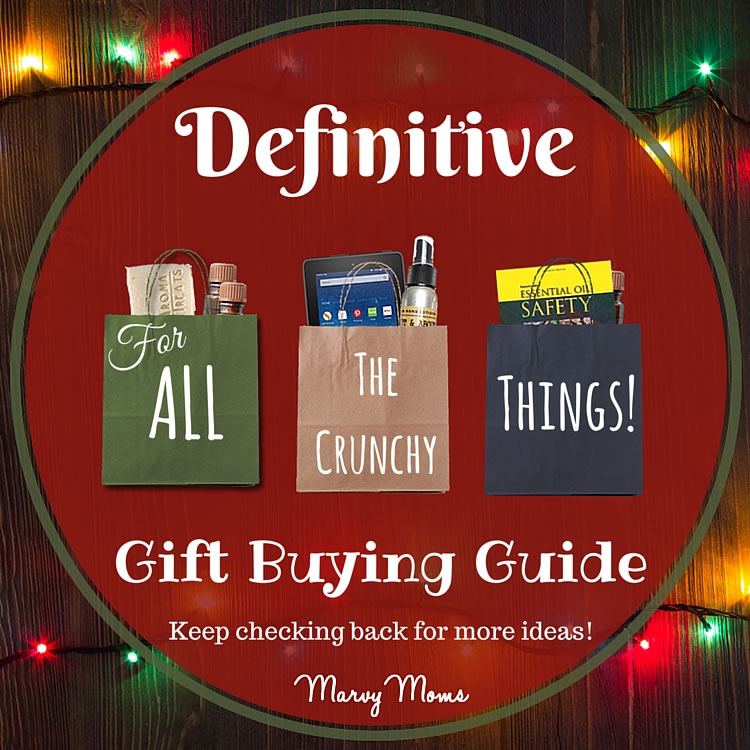 Definitive Gift Buying Guide For All the Crunchy Things