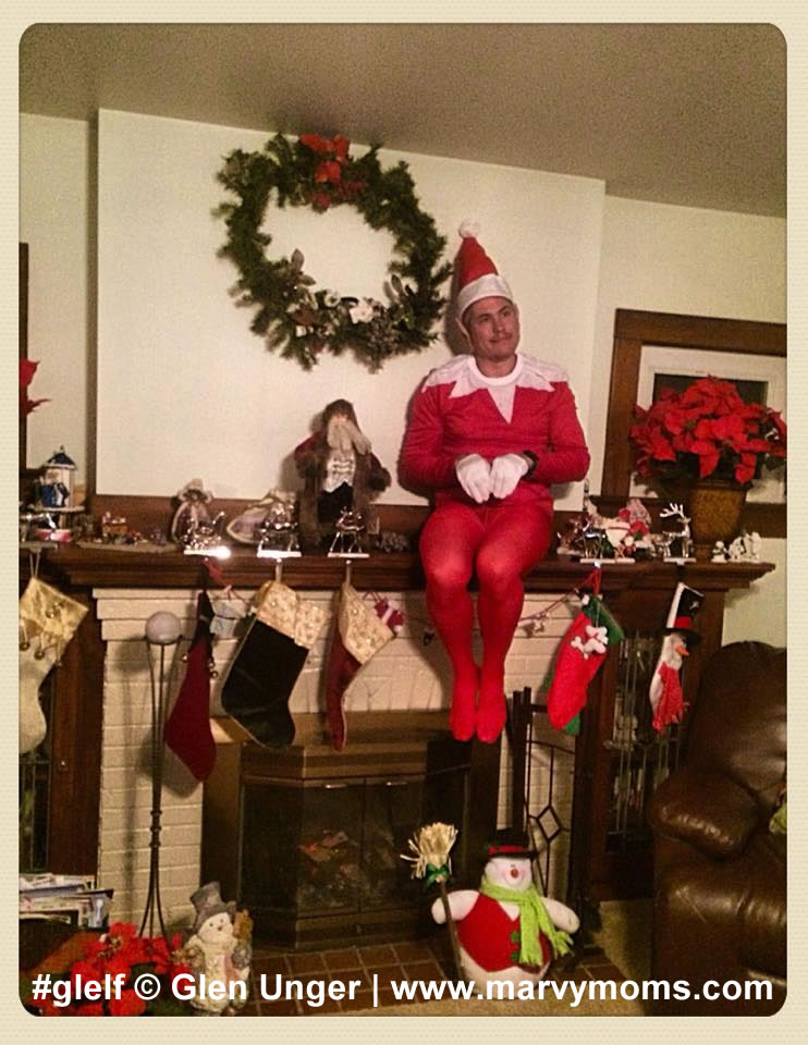 Glelf, Elf on the Shelf - Marvy Moms