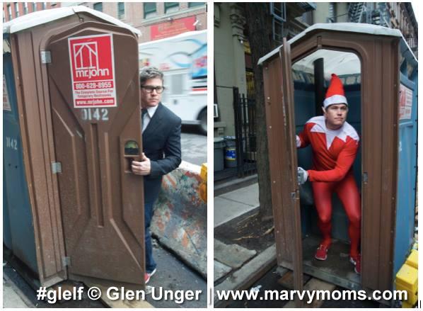 Glelf, Elf on the Shelf - Marvy Moms