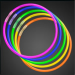 "50 22"" Premium Glow Stick Necklaces"