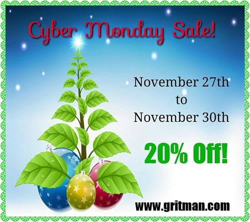 Gritman Cyber Monday Sale
