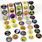 500 Halloween Stickers