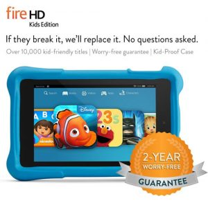 Get the Kindle Fire HD6 Kids Edition!