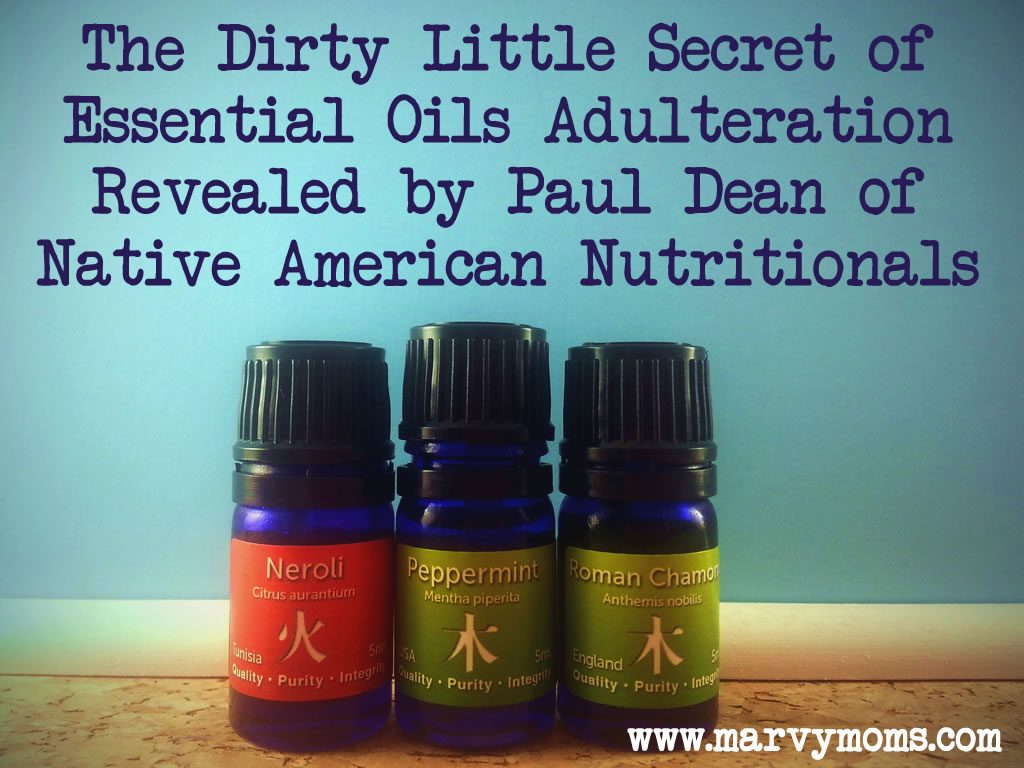 The Dirty Little Secret of Essential Oils Adulteration Revealed by Paul Dean of Native American Nutritionals