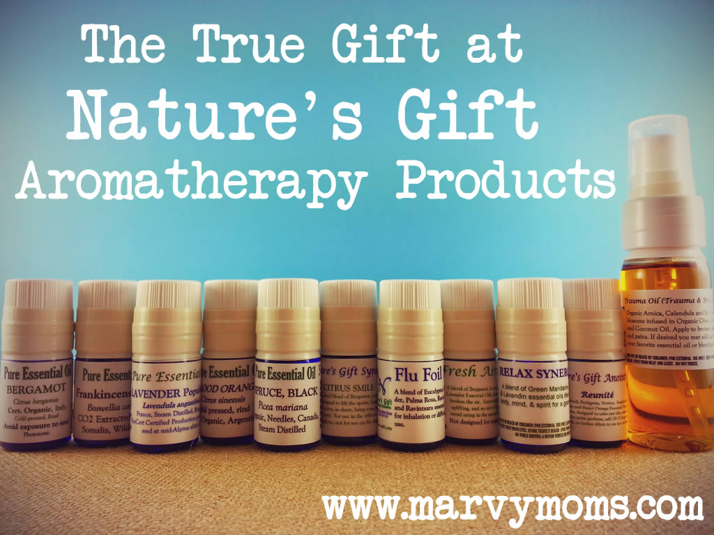 The True Gift at Nature's Gift Aromatherapy Products - Marvy Moms