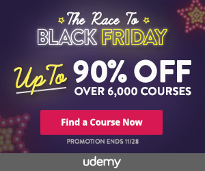 Udemy Black Friday 2016