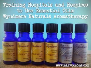Training Hospitals and Hospices to Use Essential Oils: Wyndmere Naturals Aromatherapy
