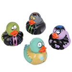 Zombie Design Rubber Ducky